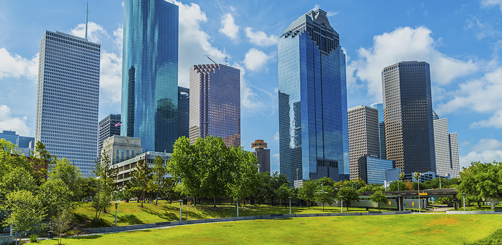 Extensive knowledge of Houston's business and employment market.